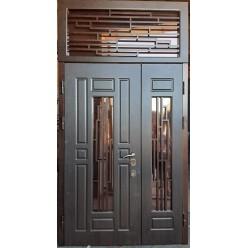 Дверь двустворчатая ДН 28 с фрамугой