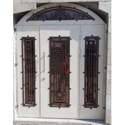 Дверь входная арочная Петергоф