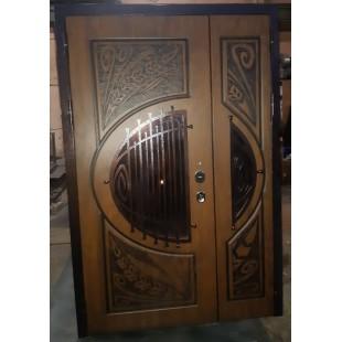 Дверь входная Летиция двустворчатая