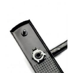 Ручка сплошная AL с подсветкой, левая, правая