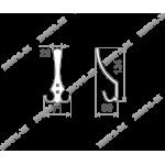 Крючок-вешалка 10 (3-х рожковый)
