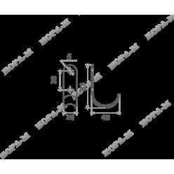Крючок-вешалка (1 рожковый)