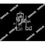 Крючок-вешалка 2 (1 рожковый)